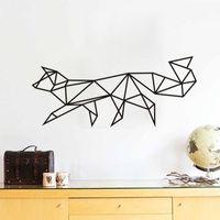 Estrella en forme de chien Fond d'écran Linéaire Pattern Series Produits Décoration intérieure Stickers muraux Décoration de mode simple Livraison gratuite