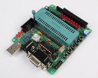 Wholesale C51 AVR MCU development board DIY learning board kit Parts and components