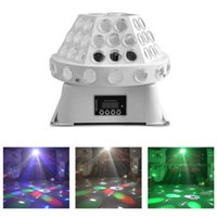 Wholesale Led GOBO Effect Stage Lighting White W High Power Rotating Disco Ball Party Lights RGBW Cree Led Wedding Ceremony Light