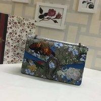 Bacs d'œuvres d'art Avis-Nouveau style de mode Vintage conception de l'abeille embelli broderie femmes de la marque d'art sacs à main en cuir Cross Sacs d'épaule corps sacs pruse bleu