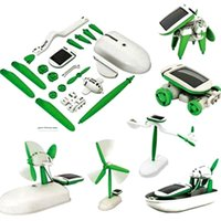 Wholesale Funny in Creative DIY Education Learning Power Solar Robot Kit Children Toys Gift