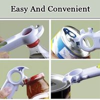 ECO Friendly beer soda - 7 In Multi Function Opener Automatic Bottle Can Jar Beer Wine Soda Opener Open Cans Lift Tabs Kitchen Cooking Tools