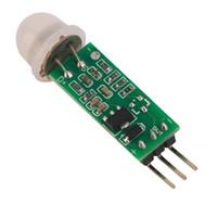 Wholesale HC SR505 Mini Infrared PIR Motion Sensor Precise Infrared Detector Module