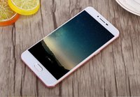 Android Quad Core 512MB goophone i7 1:1 5.5 inch Android 6.0 clone phone iphone7 touch screen dual sim mobile phones unlock cell phones smartphone 4 G mobiles