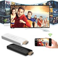 achat en gros de adaptateur airplay-Hot Wireless Wifi Airplay Téléphone à HDMI TV Dongle Adaptateur pour iPhone 6 6S Plus SE Samsung Galaxy S7 S6 S5 Note 5 4 3 HTC LG