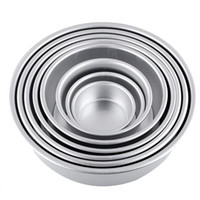 Wholesale quot Aluminum Alloy Non stick Round Cake Baking Pan Tin Mold Tray Bakeware Kitchen Accessories Cooking Tools Dolce Gusto Gadget