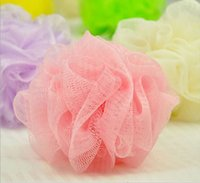 Wholesale Loofah Flower Bath Ball Bath Tubs Cool Ball Bath Towel Scrubber Body Cleaning Mesh Shower Wash Sponge and retail