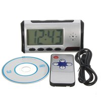 Wholesale x p AVI fps mA m Remote Operating Distance HD Camera Alarm Clock Time telling Function