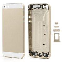 Pour Apple iPhone 5 5s Châssis de remplacement Retour Logement Housse de dos avec LOGO BoutonsSim Bac Haute Qualité