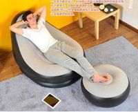 Wholesale inflatable sofa lounge chair air sofa foot rest inflatable sofa cm foot rest pump optional outdoor camping