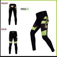 Wholesale WOSA Cycling pants Applicable cycling mountain biking outdoor sports Wide Belt design more comfortable and not easy to deformation free DHL