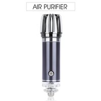 Wholesale New Mini Air Purifier Air Freshener V Mini Auto Car Fresh Air Ionic Purifier Oxygen Bar Ozone Ionizer Cleaner