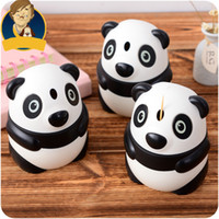 Wholesale Hot Selling Automatic Toothpick Holder Pocket Fashion Cute Panda Shaped Creative Toothpick Box