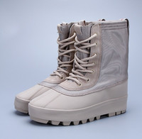 Wholesale Drop Shopping New Fashion Kanye West Shoes Original Quality Shoes Casual Leisure Boots Size Us6 With Box DHL