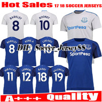 0dc6d588f66 2017 2018 Top Thai Quality 17 18 Everton home away blue soccer jersey  SANDRO ROONEY MIRALLAS BAINES NAISMITH OVIEDO jersey football shirts
