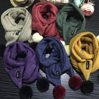 Wholesale 2016 New Children s Solid Color Baby Scarf Fashion Scarves Fall Winter Fashion Accessories Gifts Package Mail