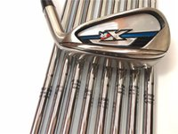 Wholesale XR Iron Set XR Golf Irons Golf Clubs PASw Regular Stiff Flex Steel Shaft Come With Head Cover