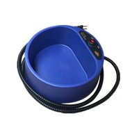 Wholesale Thermostatic Dog Bowl Food Container Hot Water Thermal Bowl Dog Feeding Watering Supplies