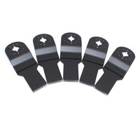 Wholesale 5 round hole Oscillating tools mm High carbon steel HCS straight Saw Blades for TCH etc Multimaster power tool