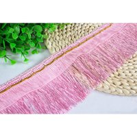 Wholesale High Quality Elegent Lace Accessories Tassel Fringe Trim DIY Lace Yarn Ribbon Handcrafts Sewing Curtain Sofa Supplies YR0104