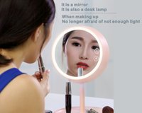 bathroom beauty products - Multi function make up mirror with LED make up light mirror make up mirror beauty makeup home bathroom beauty products
