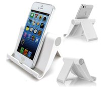 Wholesale Universal Plastic Angle Adjustable Tablet Stand Holder For iPad For Samsung Tablet and For Other brand Tablet