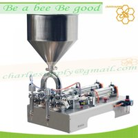 Wholesale double filling head stainless steel honey jar filling machine honey bottling equipment