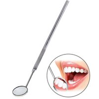 auto inspect - Mini Oral Teeth Magnify Mouth Mirror Inspect Instrument Auto Dentist Glimpse Dental Instruments
