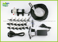 Wholesale atering Irrigation Sprayers Pump outdoor cooling system with cycle timer misting system Mist nozzle with filter Great for poultry shed