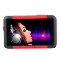 Vente en gros - Levert DropshipBinmer NIce Red Color 8 Go Slim MP5 Lecteur de musique avec écran LCD de 4,3 pouces Film vidéo FM 10 octobre