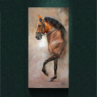 Wholesale Modern Salute the Horse painting picture abstract art print on the canvas animal canvas poster painting prints wall Home decor poster