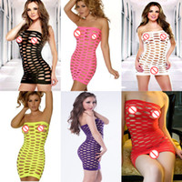 mini sexy baby doll achat en gros de-Sexy Women bretelles manches longues manches Babydoll Lingerie Mini-robe Sous-vêtements Intime Transparent Nightwear Sexy Baby Doll