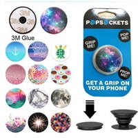 Wholesale 288 Designs Air Bag Pop Sockets Universal Phone Holder Stand Expanding Stand Grip Bracket for Cell Phone Iphone Samsung S7 Popsockets