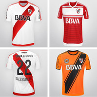 Wholesale 2016 CA River Plate football shirt Primera Division de Argentina CA River Plate Home away Soccer Jerseys El Mas Grande