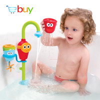 baby bathtub set - Baby Bath Toys for Children in the Bathroom Water Spraying Taps Fountain Bathtub Game for Kids Play Sets Early Educational Toys