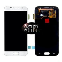 Wholesale 5PC No Dead Pixel Original For Samsung S7 Lcd With Touch Digitizer Assembly With Free DHL Tested by Before Shipping