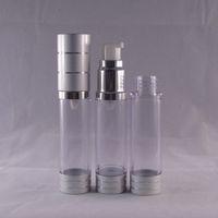 15ml acrylic spray bottle - E liquid bottle acrylic pet plastic ml ml ml perfume bottle with nozzle lotion spray bottle high quality airless vacuum flask