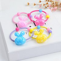 Wholesale Cute Rabbit Mickey Headband accessory Baby Girl Children Hair Clip Headbands Decorations Headwear Elastic Hair Band Hair Rope