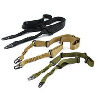 Wholesale Gun Slings High Strength One Point Adjustable Sling Single Point Rifle Gun Bungee Cord Gun Sling