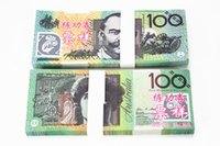 banks europe - Hot Sales Australian Training Banknotes AUD100 Bank Staff Training Collect Learning Banknotes Arts Gifts Home Arts Crafts