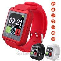 U8 Smart Watch Montres-bracelets Smartwatch U8 Avec Altimètre Pour iPhone 6 Samsung S6 Note 5 Téléphone Android HTC avec forfait au détail