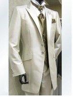 2017 Custom design Vrai image Groom Tuxedos Groomsmen Best Man Suit Hommes Mariage Costumes Bridegroom Suit (Veste + Pantalons + Veste + Cravate)