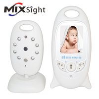 Wholesale Wireless inch Video Baby Monitor Camera Security Camera Way Talk Night Vision IR LED Temperature Monitoring