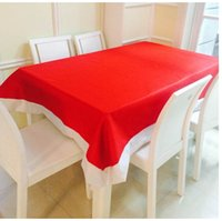 Wholesale Christmas Tablecloth decoration red Table cloth Home Curtain Table Cover Dinner Tablecloth Table Christmas xmas Decoration cm KKA990