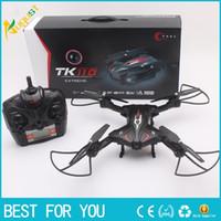 TK110HW 2.4G aéronef à télécommande d'hélicoptère de haute définition aérienne UAV modèle de contrôle de rotor d'hélicoptère avec lumière LED VR fuction