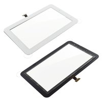 Wholesale Digitizer Touch Screen Panel White with Adhesives Sticker For Samsung Galaxy Tab P3100