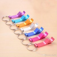 aluminum usage - DHL Blank Cheap Aluminum Alloy Metal Beer Keychain Bottle Opener For Promotional Gift Usage