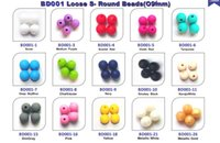 Circle silicone beads - 9mm Silicone Beads DIY Jewelry Necklace Loose Round Beads Food Grade BPA Free Baby Teething Chewable Bead Multi colors Fashion Jewelry