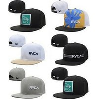 Wholesale HOTSummer Hotsale Cheap Men s Baseball Caps RVCA Snapbcks Women s Caps Fashion Snapbacks Sports Hats Mix Order