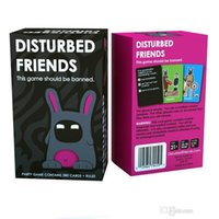Wholesale 2017 Disturbed Friends This game should be banned Amusement Toys Party game Board Game